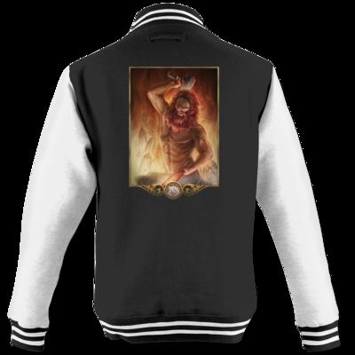 Motiv: College Jacke - Götter - Ingerimm
