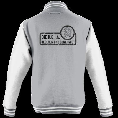 Motiv: College Jacke - Sprüche - KGIA - Gesehen und genehmigt