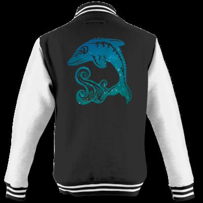 Motiv: College Jacke - Götter - Efferd - Symbol