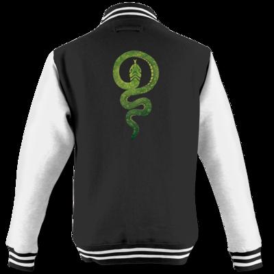 Motiv: College Jacke - Götter - Hesinde - Symbol