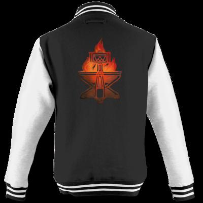 Motiv: College Jacke - Götter - Ingerimm - Symbol