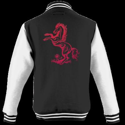 Motiv: College Jacke - Götter - Rahja - Symbol