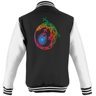 Motiv: College Jacke - Götter - Tsa - Symbol
