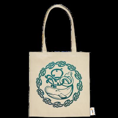 Motiv: Baumwolltasche - Götter - Swafnir - Symbol