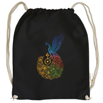 Motiv: Cotton Gymsac - Götter - Aves - Symbol