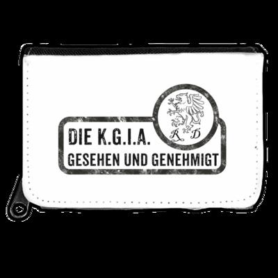 Motiv: Geldboerse - Sprüche - KGIA - Gesehen und genehmigt