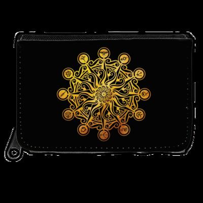 Motiv: Geldboerse - Götter - Bund des wahren Glaubens -Symbol