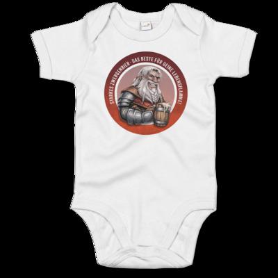Motiv: Baby Body Organic - Sprüche - Zwergenbier