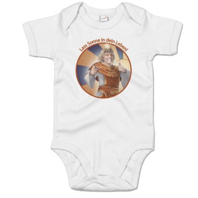 Motiv: Baby Body Organic - Sprüche - Götter - Praios - Lass Sonne in...