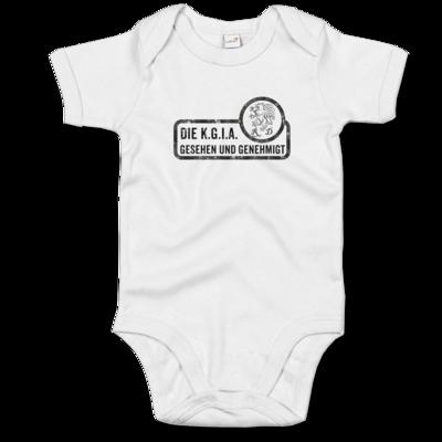 Motiv: Baby Body Organic - Sprüche - KGIA - Gesehen und genehmigt