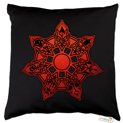 Motiv: Kissen Baumwolle - Götter - Borbarad - Symbol