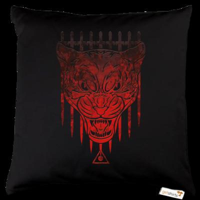 Motiv: Kissen Baumwolle - Götter - Kor - Symbol