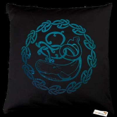 Motiv: Kissen Baumwolle - Götter - Swafnir - Symbol