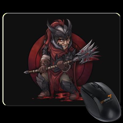 Motiv: Mousepad Textil - Götter - Kor - Chibi
