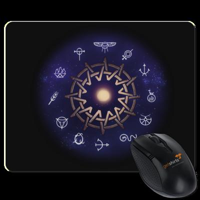 Motiv: Mousepad Textil - Götter - Zwölfgötterkreis