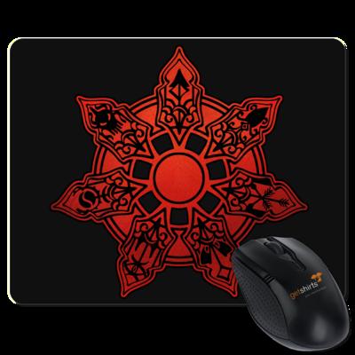 Motiv: Mousepad Textil - Götter - Borbarad - Symbol