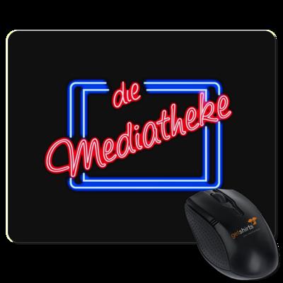 Motiv: Mousepad Textil - Mediatheke Logo