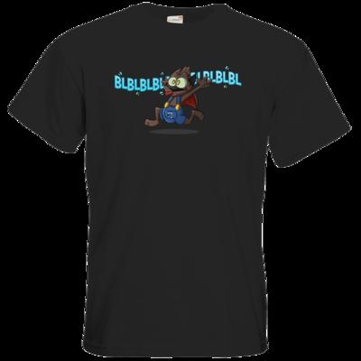 Motiv: T-Shirt Premium FAIR WEAR - Nachtling BLBLBL!