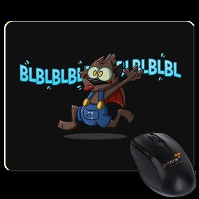 Motiv: Mousepad Textil - Nachtling BLBLBL!