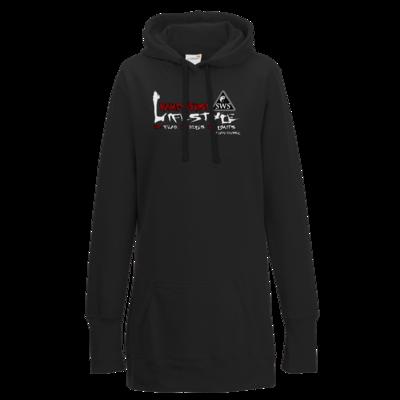 Motiv: Lady Longline Hoodie - Kampfkunst Lifestyle - Logo 2