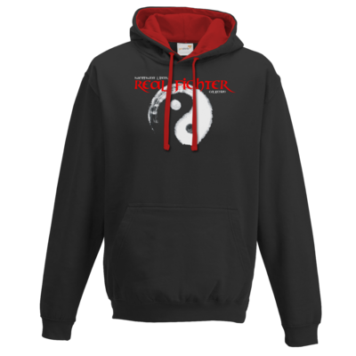 Motiv: Two-Tone Hoodie - Real Fighter