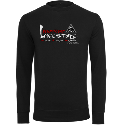 Motiv: Light Crew Sweatshirt - Kampfkunst Lifestyle - Logo 2