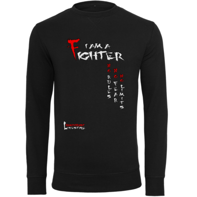 Motiv: Light Crew Sweatshirt - Kampfkunst Lifestyle - I am a Fighter