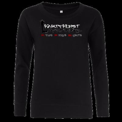 Motiv: Girlie Sweatshirt - Kampfkunst Lifestyle - Logo 1