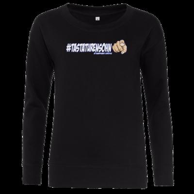 Motiv: Girlie Sweatshirt - Kampfkunst Lifestyle - Tastaturensohn