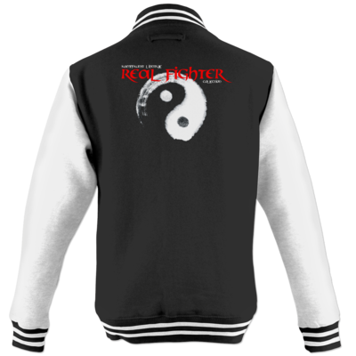 Motiv: College Jacke - Real Fighter