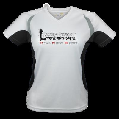 Motiv: Laufshirt Lady Running T - Kampfkunst Lifestyle - Logo 1