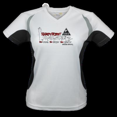 Motiv: Laufshirt Lady Running T - Kampfkunst Lifestyle - Logo 2