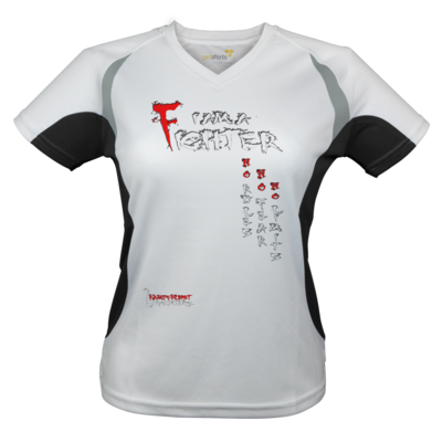 Motiv: Laufshirt Lady Running T - Kampfkunst Lifestyle - I am a Fighter