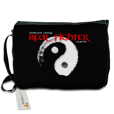 Motiv: Schultertasche - Real Fighter