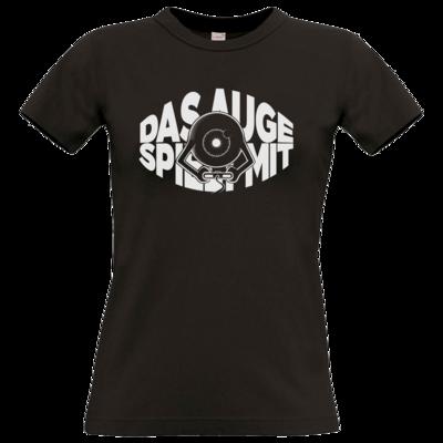 Motiv: T-Shirt Damen Premium FAIR WEAR - Das Auge spielt mit