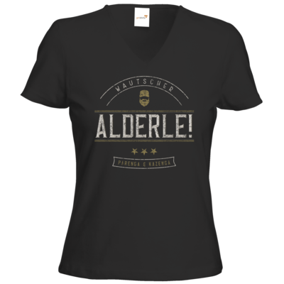 Motiv: T-Shirts Damen V-Neck FAIR WEAR - Alderle