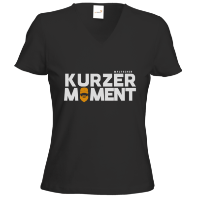 Motiv: T-Shirts Damen V-Neck FAIR WEAR - Kurzer Moment