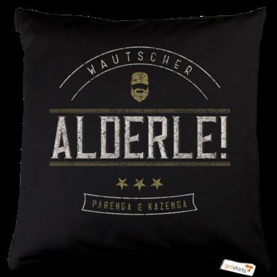 Motiv: Kissen Baumwolle - Alderle