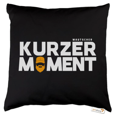 Motiv: Kissen Baumwolle - Kurzer Moment
