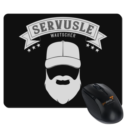 Motiv: Mousepad Textil - Servusle