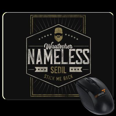 Motiv: Mousepad Textil - Nameless