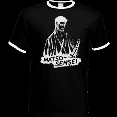 Motiv: T-Shirt Ringer - Matso-Sensei