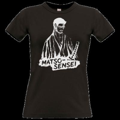 Motiv: T-Shirt Damen Premium FAIR WEAR - Matso-Sensei
