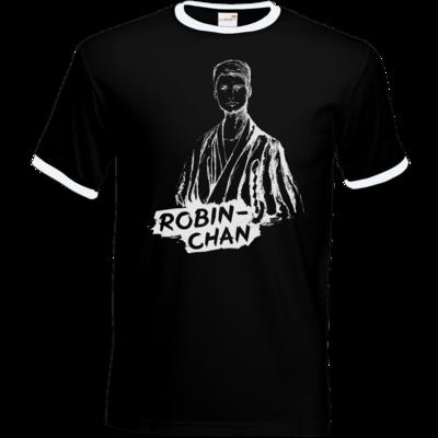 Motiv: T-Shirt Ringer - Robin-Chan