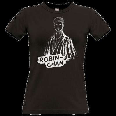 Motiv: T-Shirt Damen Premium FAIR WEAR - Robin-Chan