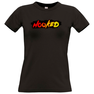 Motiv: T-Shirt Damen Premium FAIR WEAR - Hooked Logo