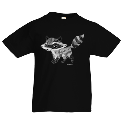 Motiv: Kids T-Shirt Premium FAIR WEAR - Raccoonus Triangle