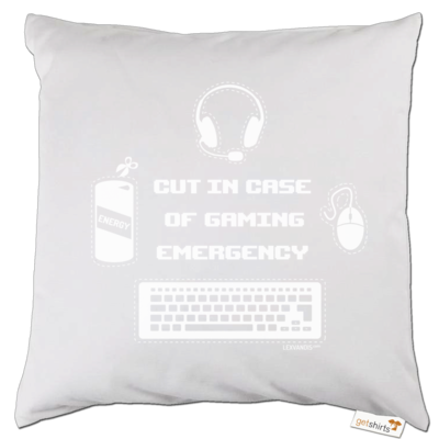 Motiv: Kissen - Gaming Emergency