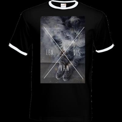 Motiv: T-Shirt Ringer - Cat Content