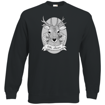 Motiv: Sweatshirt Classic - Oh Deer